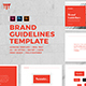 Brand Guidelines Template - GraphicRiver Item for Sale