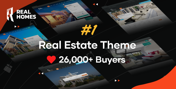 01 preview.  large preview - RealHomes - Estate Sale and Rental WordPress Theme