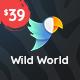 WildWorld   Nonprofit & Ecology WordPress Theme - ThemeForest Item for Sale