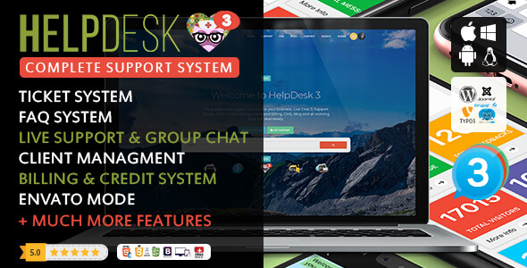 HelpDesk 3 - The professional Support Solution