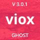 Viox - Modern Multipurpose Ghost Theme - ThemeForest Item for Sale