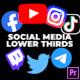 Social Media Lower Third v2 - VideoHive Item for Sale
