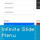 jQuery Infinite Slide Menu Plugin