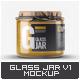 Glass Jar Mock-Up v.1 - GraphicRiver Item for Sale