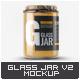 Glass Jar Mock-Up v.2 - GraphicRiver Item for Sale