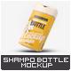 Square Shampoo Bottle Mock-Up - GraphicRiver Item for Sale