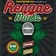 Reggae Music Flyer Template V3 - GraphicRiver Item for Sale