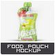 Baby Food Spout Pouch Mock-Up - GraphicRiver Item for Sale