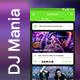 DJ Event Ticket Booking App UI Kit | DJ Mania - GraphicRiver Item for Sale