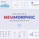 Neumorphic Infographics. Keynote Presentation - GraphicRiver Item for Sale