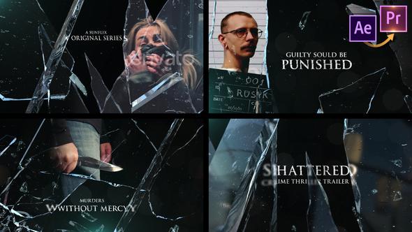 Shattered Crime Thriller - Premiere PRO