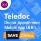 Teledoc - Doctor Appoinment Mobile App UI Kit - ThemeForest Item for Sale