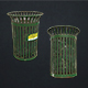 Waste Bin - Low Poly - 3DOcean Item for Sale