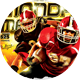 Monday Madness Football Flyer - GraphicRiver Item for Sale