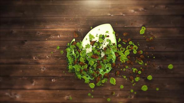 Elegant Leaves Logo Intro