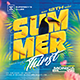 Summer Thirst Party Flyer - GraphicRiver Item for Sale