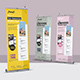 Mobile App Roll Up Banner - GraphicRiver Item for Sale