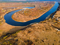 Bend of the Don River in the upper reaches of the river from drone - PhotoDune Item for Sale