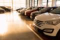 New cars at sunlit dealer showroom close view - PhotoDune Item for Sale