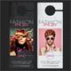 Fashion Week Show Door Hanger - GraphicRiver Item for Sale
