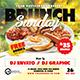 Brunch Sunday Flyer & Social Media Post - GraphicRiver Item for Sale