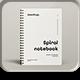 Spiral Notebook Mock-up - GraphicRiver Item for Sale