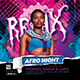 Afro Beat Flyer - GraphicRiver Item for Sale