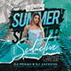 Summer Night Flyer - GraphicRiver Item for Sale