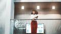 A biracial businesswoman on balcony - PhotoDune Item for Sale