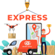 Express Shopping & Shipping Promo - VideoHive Item for Sale