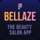 BELLAZE   Salon Service and Shop Mobile UI Template - ThemeForest Item for Sale
