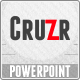 Cruzr PowerPoint Template - GraphicRiver Item for Sale