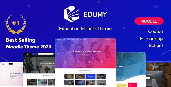 Edumy - Premium Moodle LMS Theme