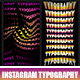 Instagram Typography - VideoHive Item for Sale