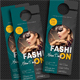 Fashion Extreme Party Door Hanger - GraphicRiver Item for Sale