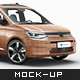 Volkswagen Caddy 2021 Mockup - GraphicRiver Item for Sale