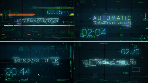Hi-Tech Glitches (Countdown and Titles)