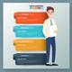 Businessman Infographics design - GraphicRiver Item for Sale