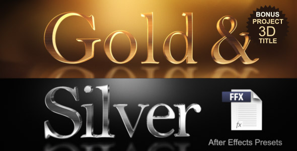 Gold & Silver Presets