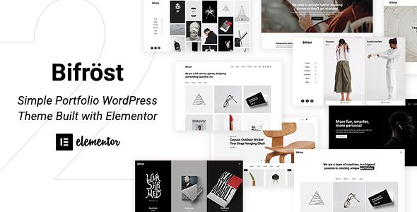 Bifrost - Simple Elementor WordPress Theme
