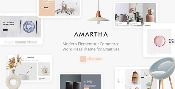 Amartha - Modern Elementor WooCommerce Theme