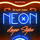 Neon - Photoshop Layer Styles - GraphicRiver Item for Sale