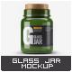Glass Jar With Cork Lid Mock-Up - GraphicRiver Item for Sale