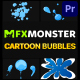 Cartoon Bubbles | Premiere Pro MOGRT - VideoHive Item for Sale