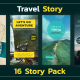 Travel Instagram Story - VideoHive Item for Sale