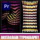 Instagram Typography I Premiere - VideoHive Item for Sale