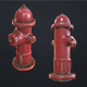 Fire Hydrant - Low Poly - 3DOcean Item for Sale