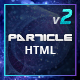 Particle - Modern Tech & Startup HTML Template - ThemeForest Item for Sale
