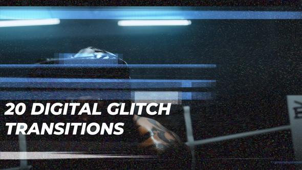 DIgital Glitch Transitions