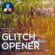Glitch Digital Opener for DaVinci Resolve - VideoHive Item for Sale